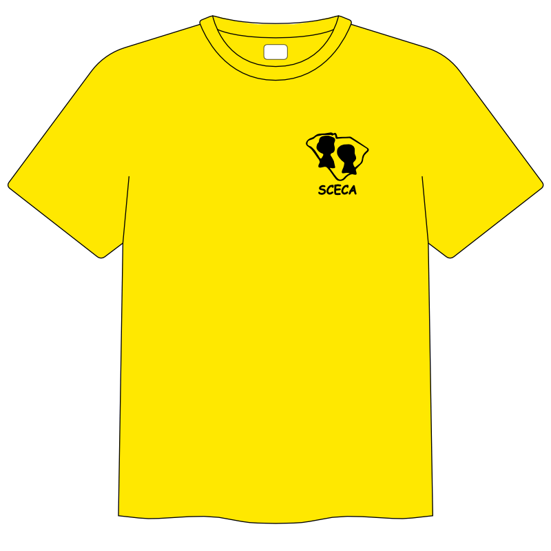 2020 SCECA Conference T - yellow front